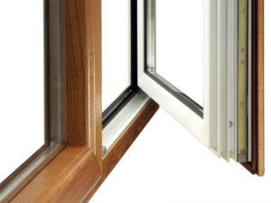 misto legno alluminio